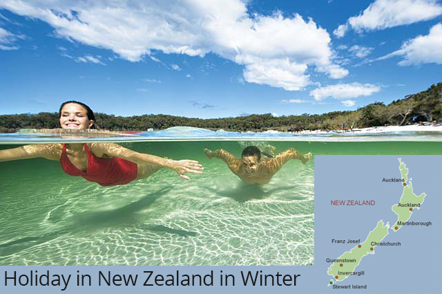 Holiday in New Zealand in Winter